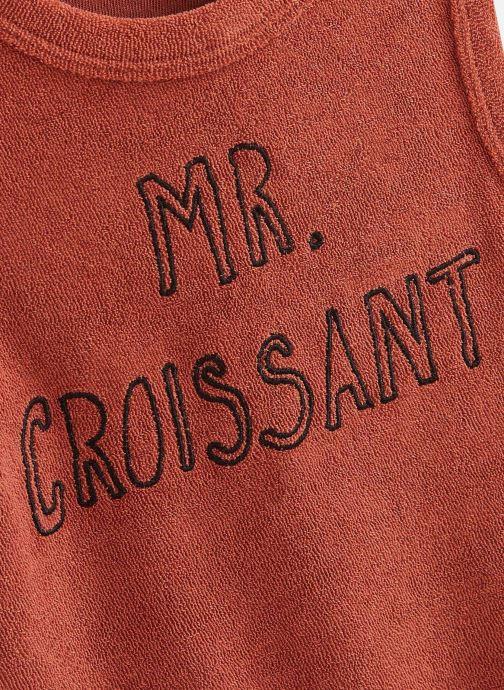 Kleding Sproet & Sprout Débardeur terry Mr. Croissant Bruin model