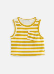 Débardeur terry stripe Mellow Yellow
