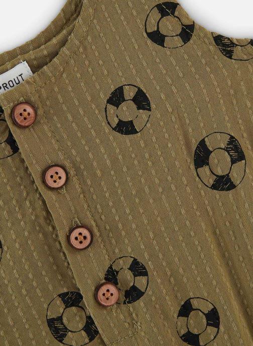 Vêtements Sproet & Sprout Combinaison print Lifebuoy Vert vue portées chaussures