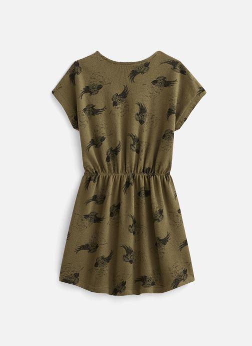 Vêtements Sproet & Sprout Robe print Cockatoo Vert vue bas / vue portée sac