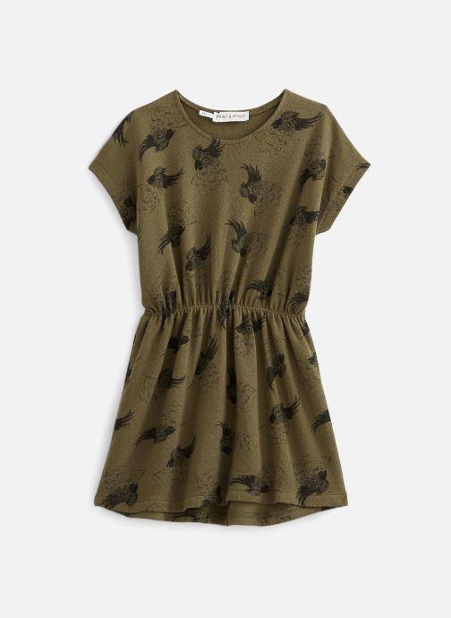 Vêtements Sproet & Sprout Robe print Cockatoo Vert vue détail/paire