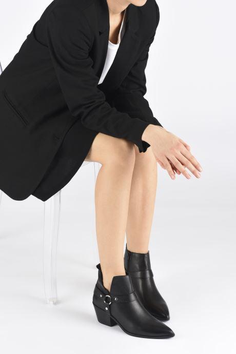 Bottines et boots Aldo WRANGLER Noir vue bas / vue portée sac