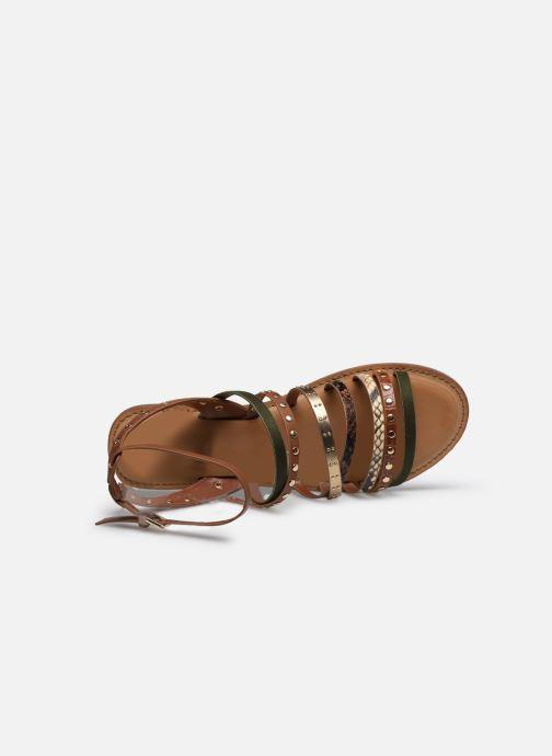 Sandali e scarpe aperte Aldo LEGERIDIA Marrone immagine sinistra