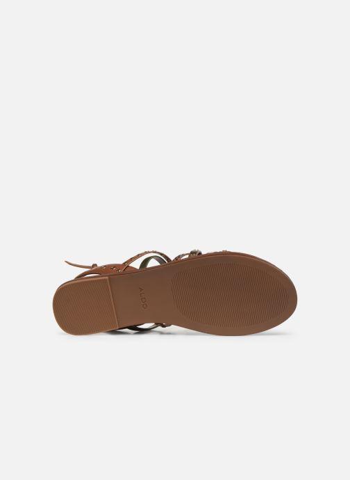 Sandales et nu-pieds Aldo LEGERIDIA Marron vue haut