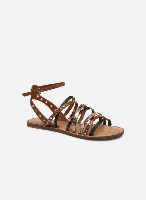 Sandales et nu-pieds Aldo LEGERIDIA Marron vue détail/paire