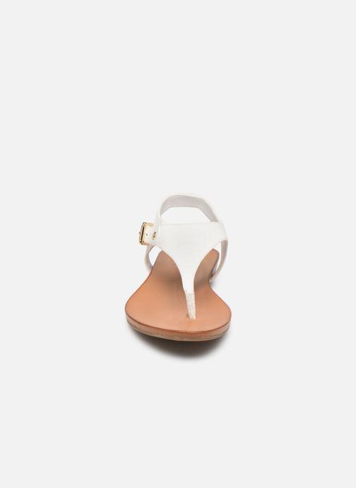 Sandales et nu-pieds Aldo MECIA Blanc vue portées chaussures