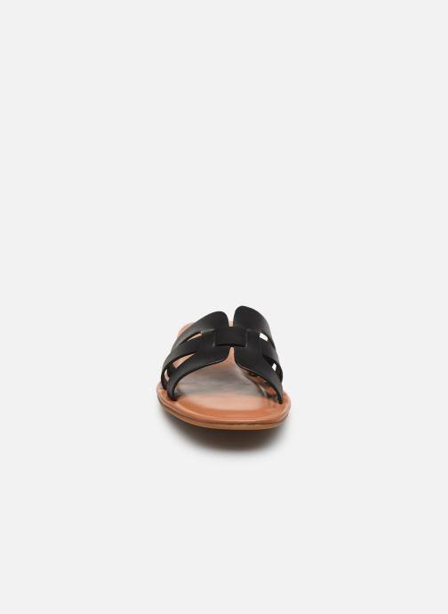 Mules et sabots Aldo IDAMEA Noir vue portées chaussures