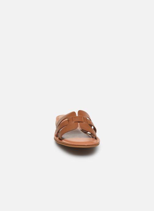Mules et sabots Aldo IDAMEA Marron vue portées chaussures