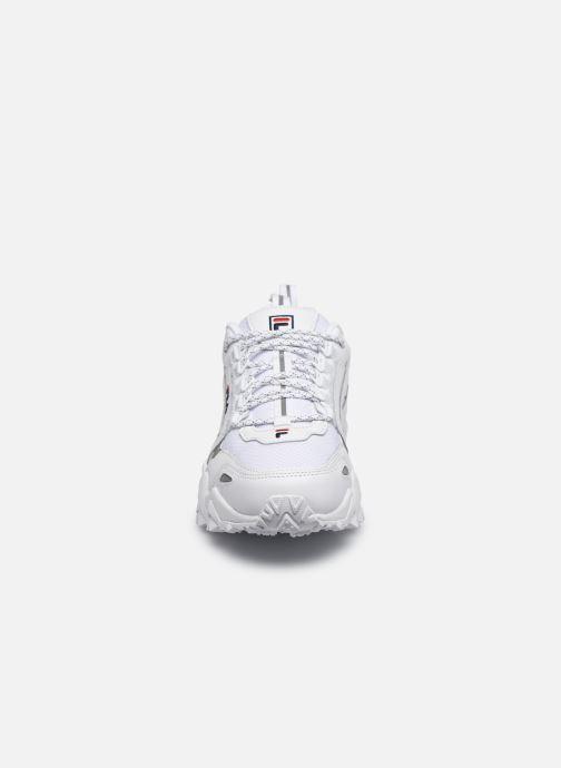 Baskets FILA Trail Wk Wmn Blanc vue portées chaussures