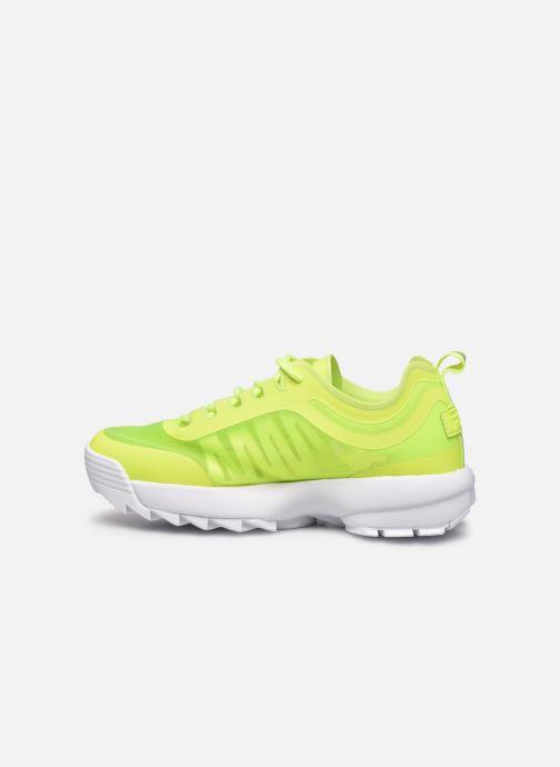 Sneaker FILA Disruptor Run Wmn gelb ansicht von vorne