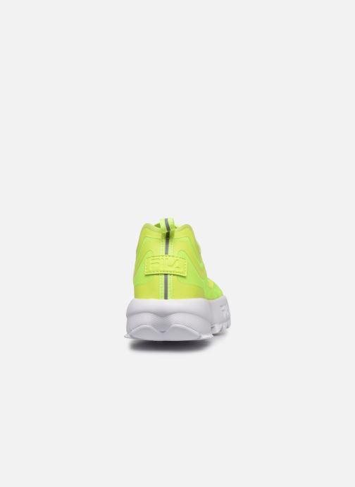 Sneaker FILA Disruptor Run Wmn gelb ansicht von rechts