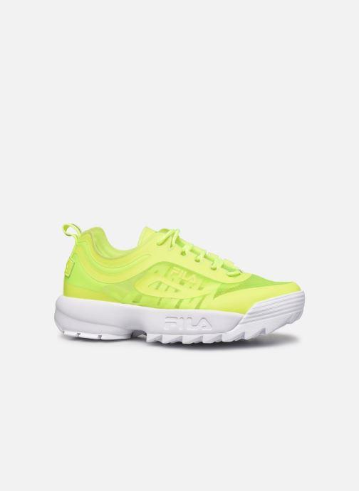 Sneaker FILA Disruptor Run Wmn gelb ansicht von hinten