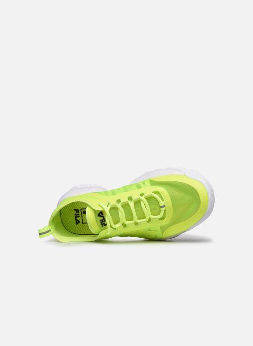 Sneaker FILA Disruptor Run Wmn gelb ansicht von links