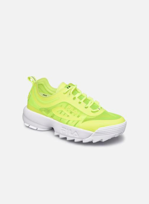 Sneaker FILA Disruptor Run Wmn gelb detaillierte ansicht/modell