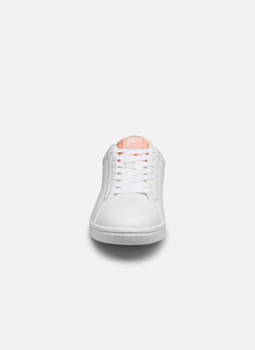 Baskets FILA Crosscourt 2 Nt Wmn Blanc vue portées chaussures