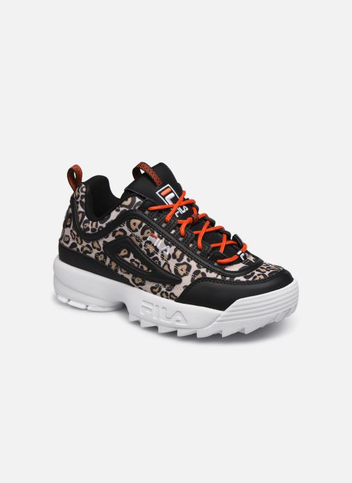 Sneakers FILA Disruptor Animal Wmn Zwart detail