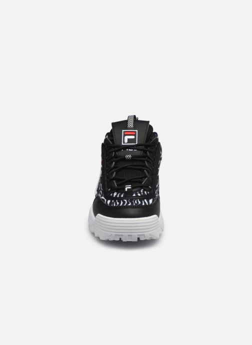 Sneaker FILA Disruptor Animal Wmn schwarz schuhe getragen