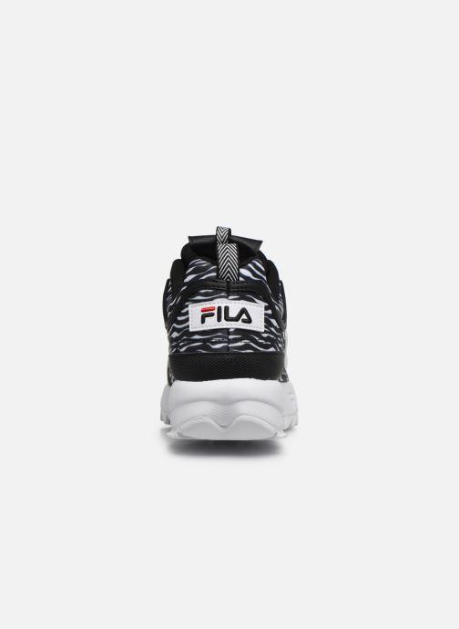 Sneaker FILA Disruptor Animal Wmn schwarz ansicht von rechts