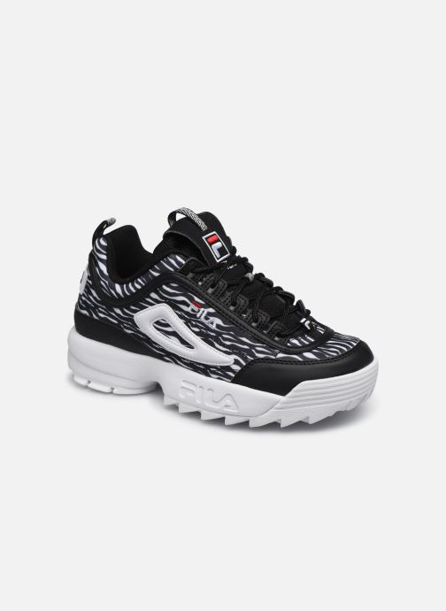 Baskets FILA Disruptor Animal Wmn Noir vue détail/paire