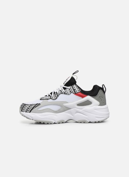 Baskets FILA Ray Tracer Club Chaos Wmn Blanc vue face
