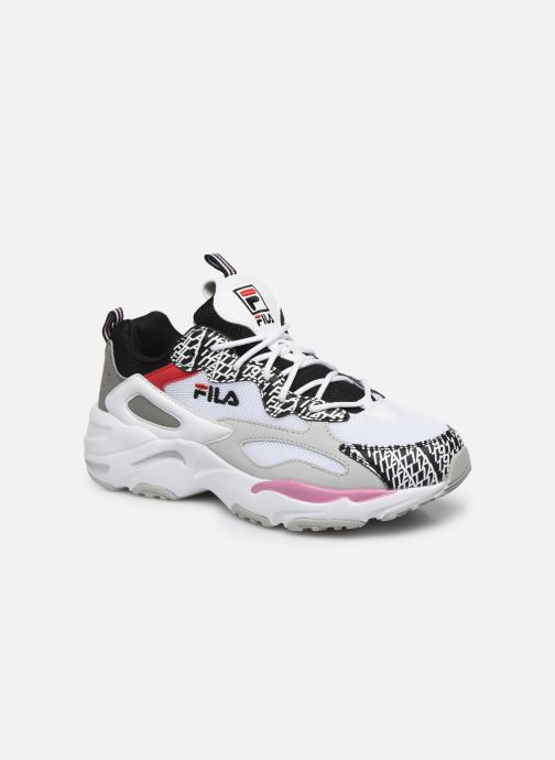 Baskets FILA Ray Tracer Club Chaos Wmn Blanc vue détail/paire