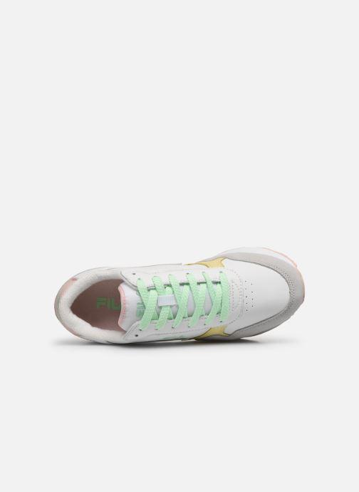 Sneaker FILA Orbit Zeppa Cb Wmn weiß ansicht von links