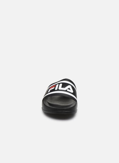 Sandales et nu-pieds FILA Morro Bay Slipper 2.0 Wmn Noir vue portées chaussures