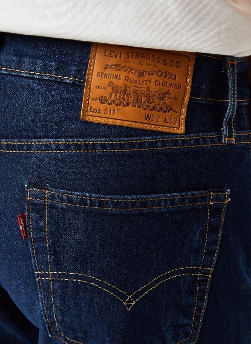 Vêtements Levi's 511™ SLIM FIT Bleu vue face