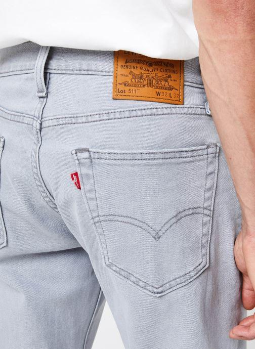Vêtements Levi's 511™ SLIM FIT Gris vue face