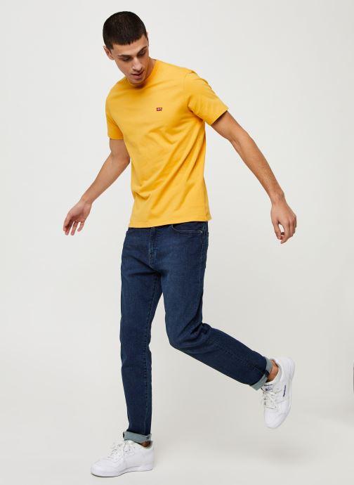 Vêtements Levi's THE ORIGINAL TEE Orange vue bas / vue portée sac