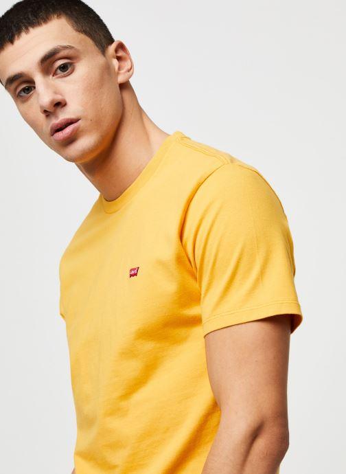 Vêtements Levi's THE ORIGINAL TEE Orange vue face