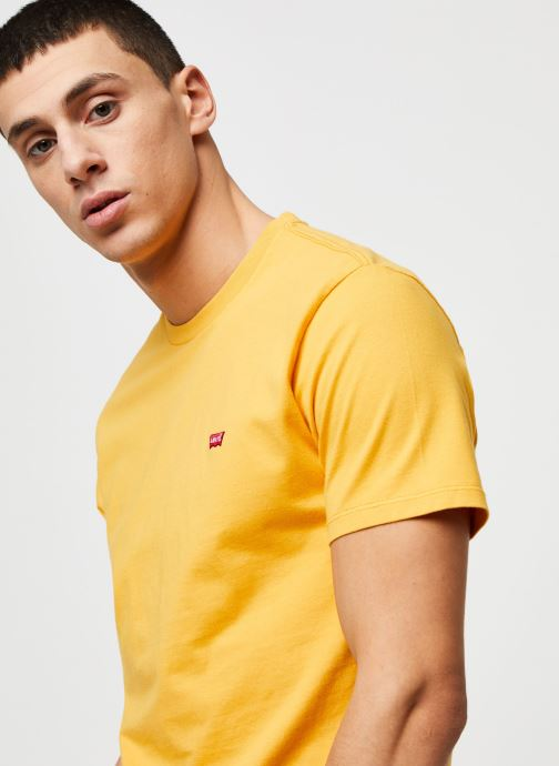 Vêtements Levi's THE ORIGINAL TEE Orange vue face