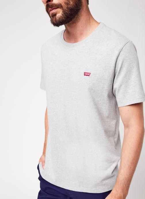 Vêtements Levi's THE ORIGINAL TEE Gris vue détail/paire