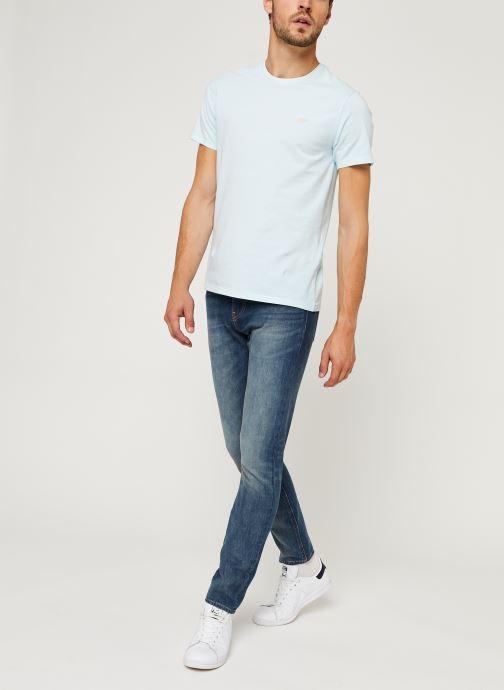 Vêtements Levi's THE ORIGINAL TEE Bleu vue bas / vue portée sac