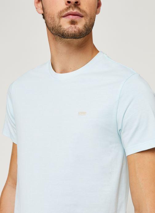 Vêtements Levi's THE ORIGINAL TEE Bleu vue face