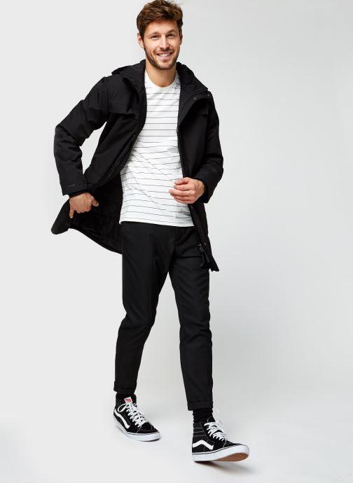 Vêtements Levi's THE ORIGINAL TEE Blanc vue bas / vue portée sac
