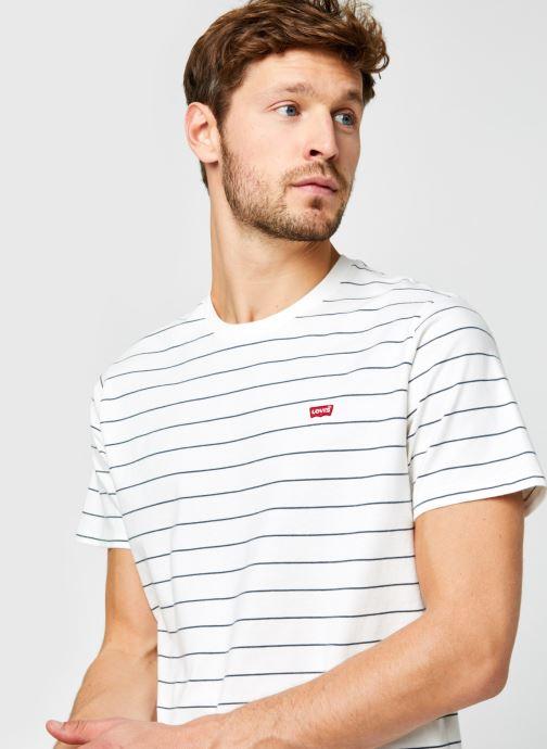 Vêtements Levi's THE ORIGINAL TEE Blanc vue face