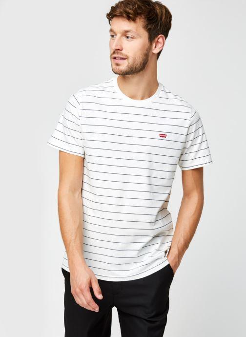 Vêtements Levi's THE ORIGINAL TEE Blanc vue droite