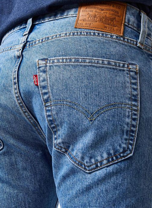 Vêtements Levi's 512™ SLIM TAPER FIT Bleu vue face