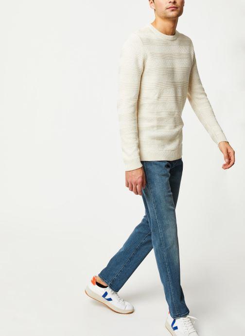 Vêtements Levi's 502™ TAPER Bleu vue bas / vue portée sac