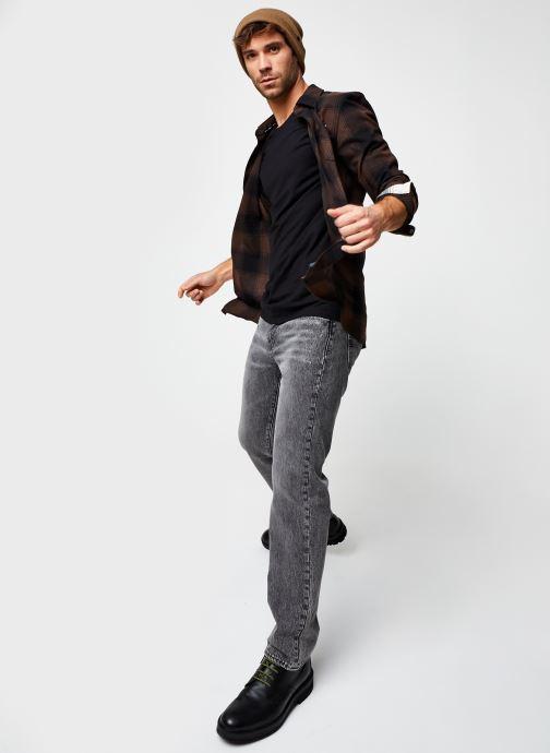 Vêtements Levi's 502™ TAPER Gris vue bas / vue portée sac