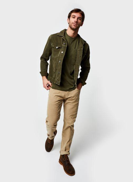 Vêtements Levi's 502™ TAPER Beige vue bas / vue portée sac