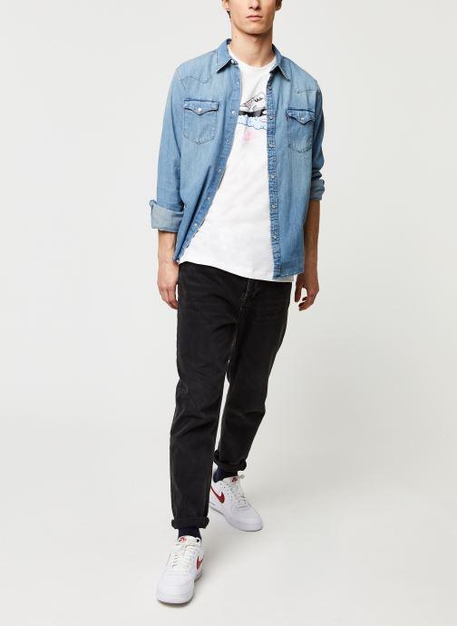 Vêtements Levi's BARSTOW WESTERN STANDARD Bleu vue bas / vue portée sac