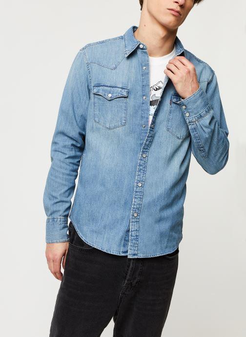 Vêtements Levi's BARSTOW WESTERN STANDARD Bleu vue détail/paire