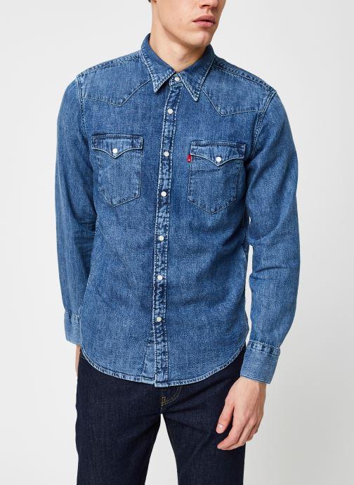 Vêtements Levi's BARSTOW WESTERN STANDARD Bleu vue droite