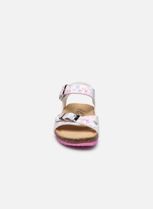 Sandales et nu-pieds Primigi PBK 54251 Blanc vue portées chaussures