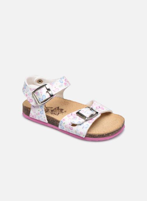 Sandales et nu-pieds Primigi PBK 54251 Blanc vue détail/paire