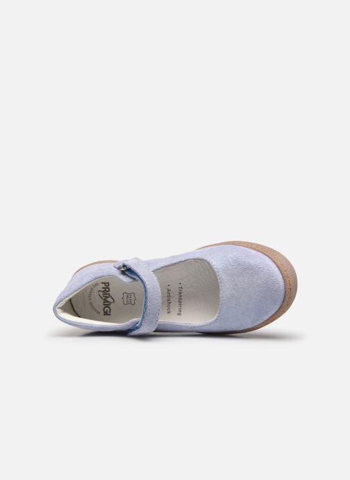 Ballerinas Primigi PTF 54310 blau ansicht von links