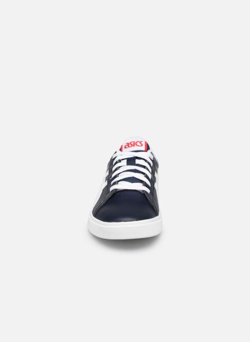 Sneakers Asics Classic CT Kids Azzurro modello indossato
