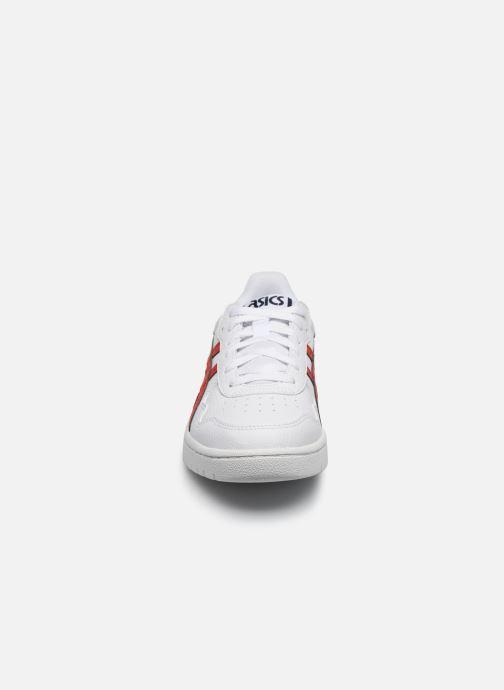 Baskets Asics Japan S GS Blanc vue portées chaussures